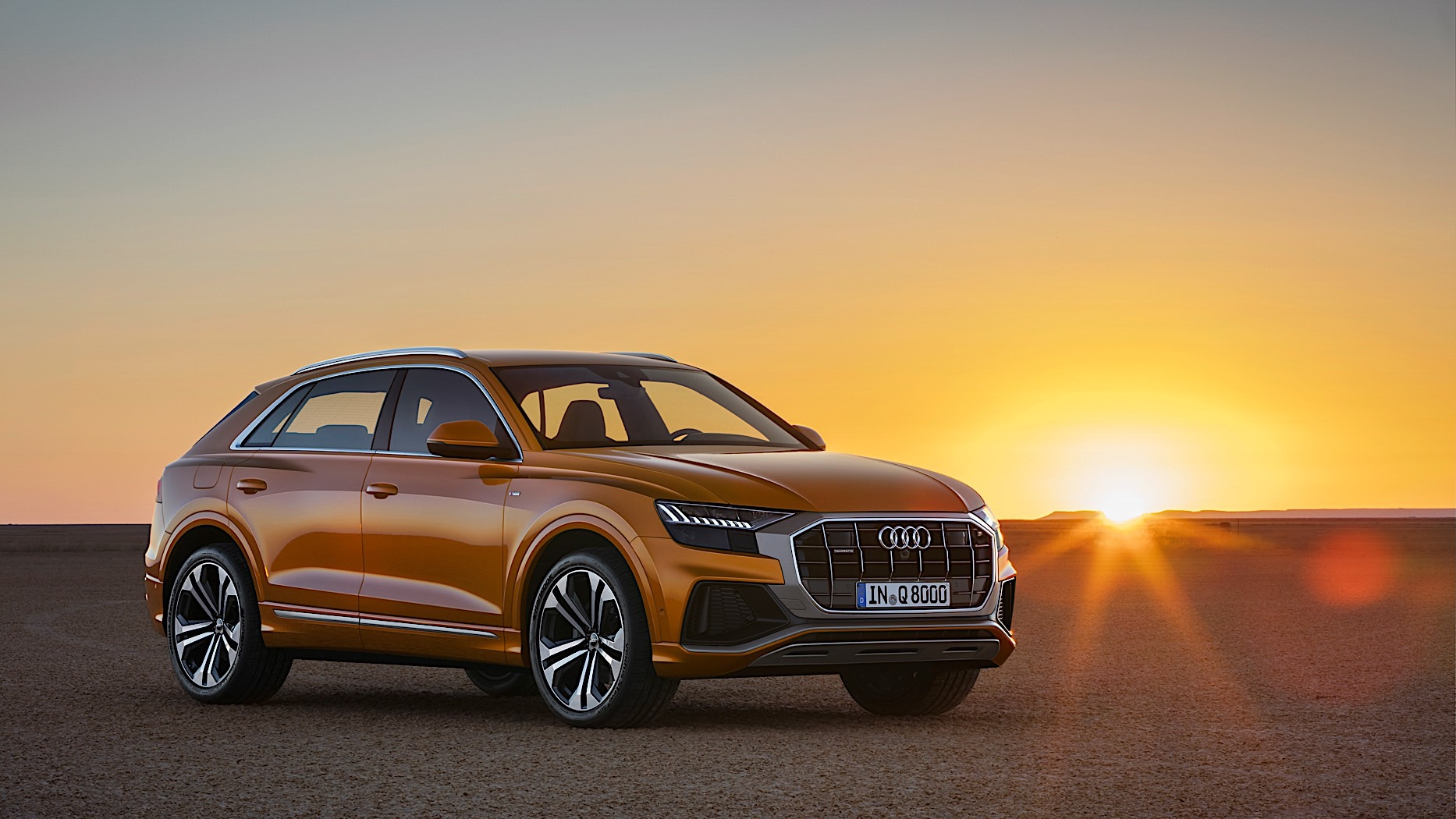 audi q8 revealed with mild hybrid and autonomous garage parking autoevolution. Black Bedroom Furniture Sets. Home Design Ideas