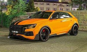 Audi Q8 Slammed In Virtual Tuning Looks Like A Racing Suv
