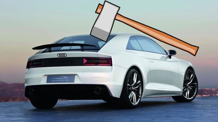 Audi Quattro Will Not Reach Production