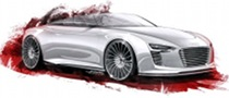 Audi R4 e-tron Roadster Sketches Revealed