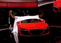 Unveiling of the Audi R8 5.2 FSI