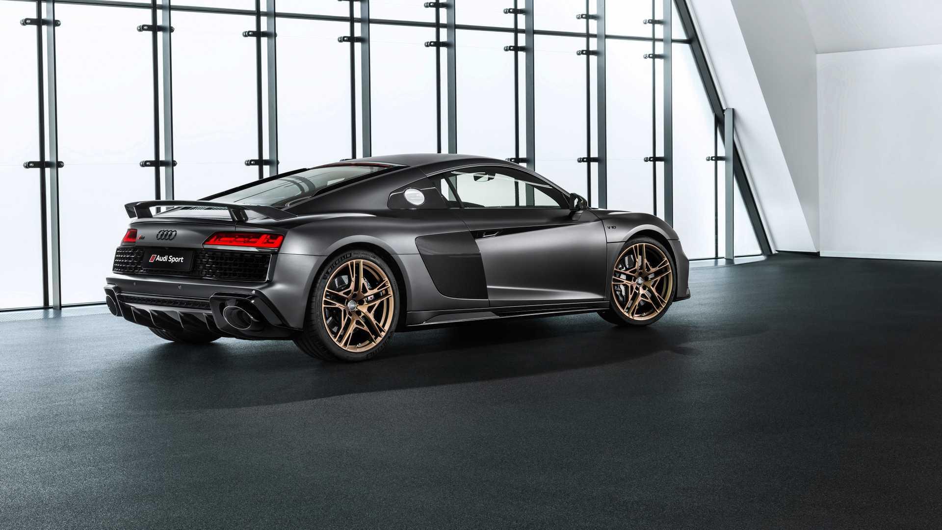 Audi R8 Decennium Celebrates A Decade Of V10 Power Autoevolution