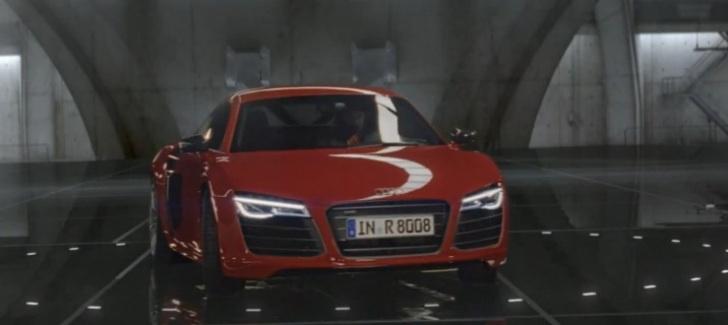 Audi R Facelift First Commercial Colors Autoevolution - Audi r8 commercial
