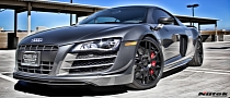 Audi R8 GT Rides on Nutek Concave Wheels