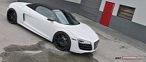 Audi R8 Spyder on ADV.1 Wheels [Photo Gallery]