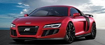 Audi R8 V10 Facelift Receives 600 HP from ABT