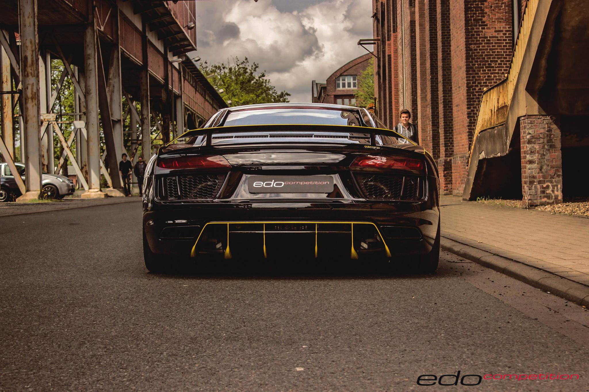 Audi R8 V10 Tuned By Edo Looks Like The Lamborghini Centenario