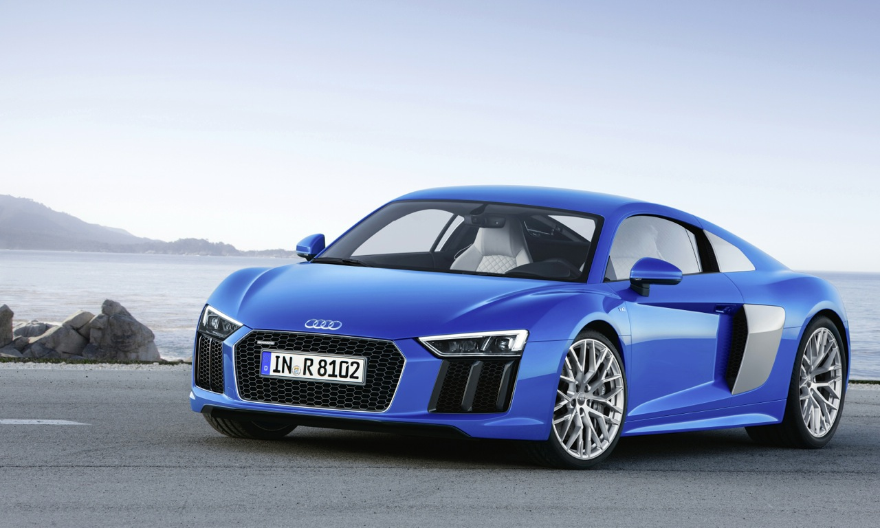 Audi R8 with Turbo Engine Is