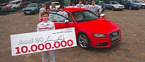 Audi Reaches Ten-Millionth Midsize Cars Built Milestone [Video]
