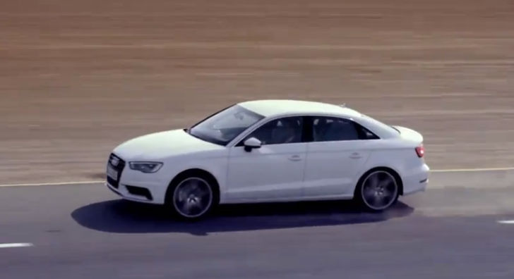Audi Releases New A3 Saloon Promo [Video]