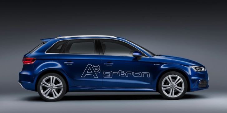 Audi Reveals A3 g-tron for Geneva [Photo Gallery]