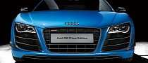 Audi Reveals Blue R8 China Edition for 80 Customers