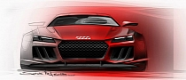 Audi Reveals New quattro Concept in Design Sketches [Photo Gallery]