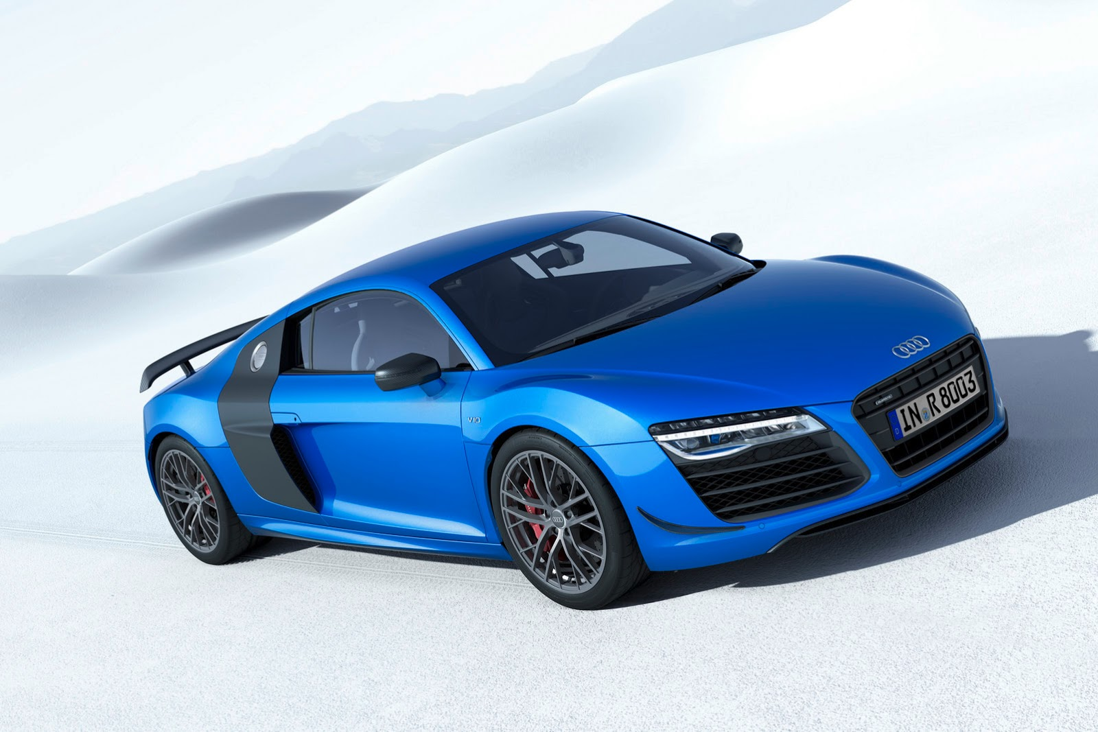 Audi Reveals R8 LMX, Takes the i8's Laser Headlight Crown ...