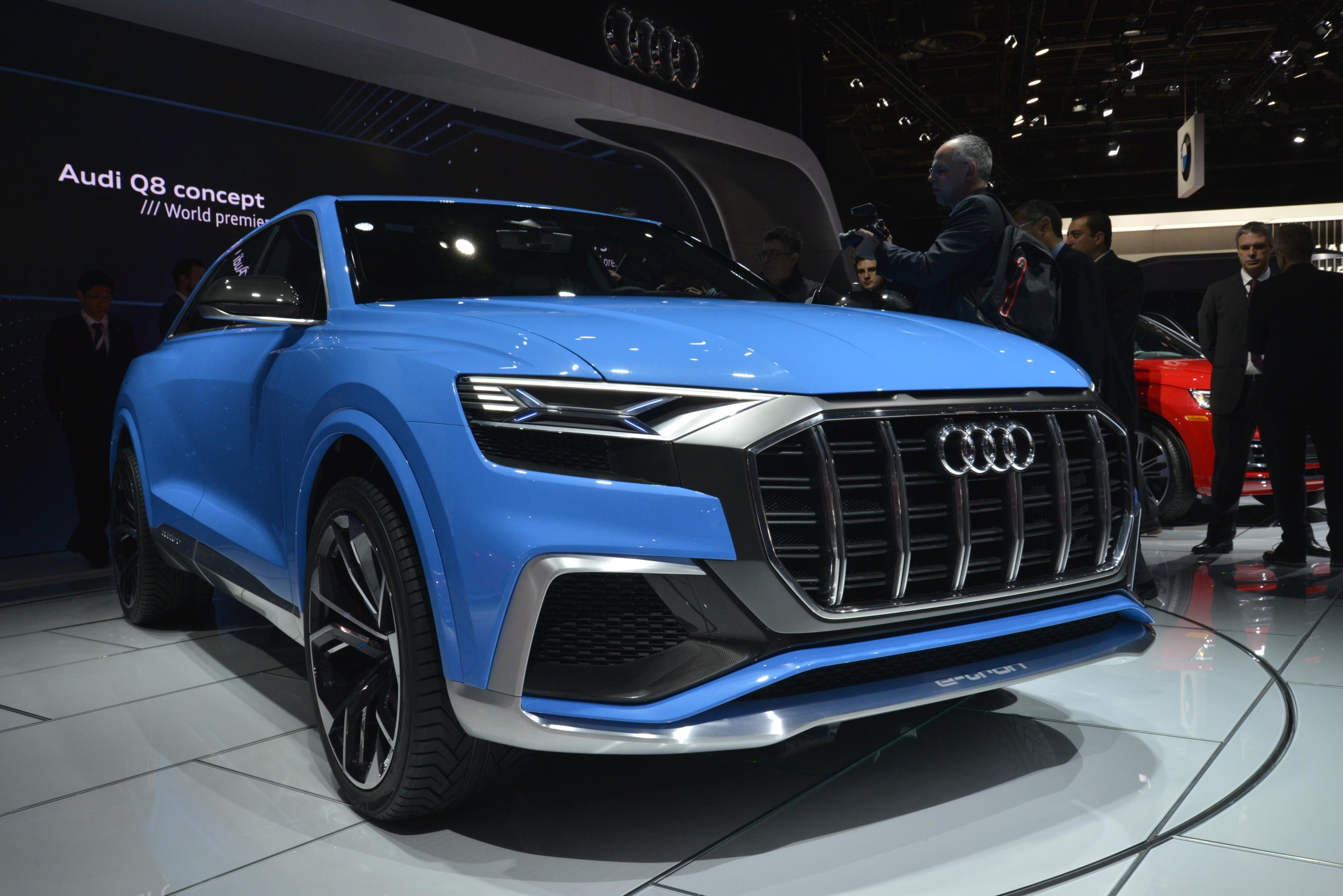 600hp+ Audi RS Q8 Concept to Debut at Geneva 2017