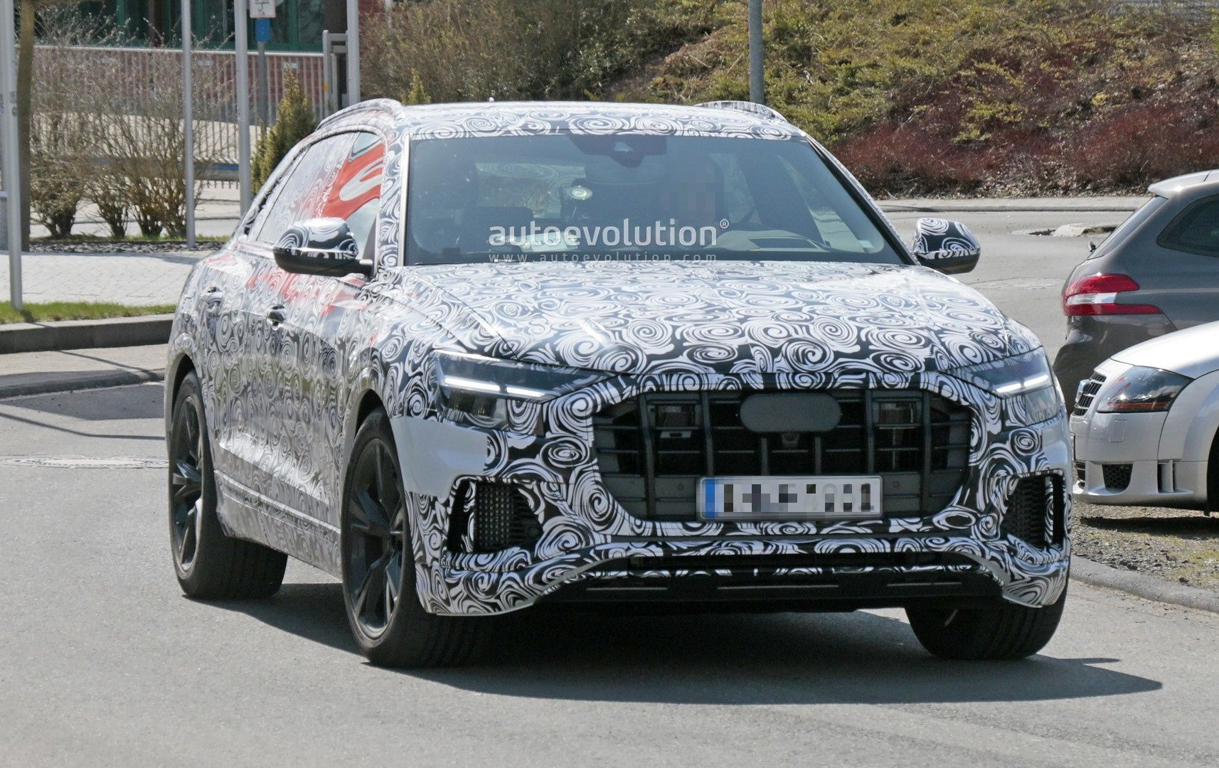 Audi Rs Q8 Spied For The First Time Pretends To Be Sq8