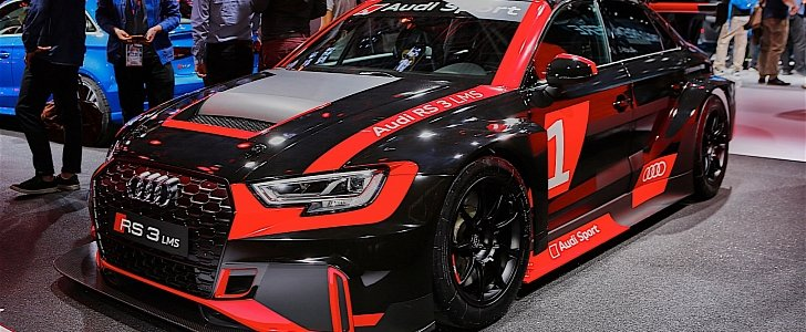 Audi RS3 Gets Racing Version, Becomes Audi RS3 LMS - autoevolution