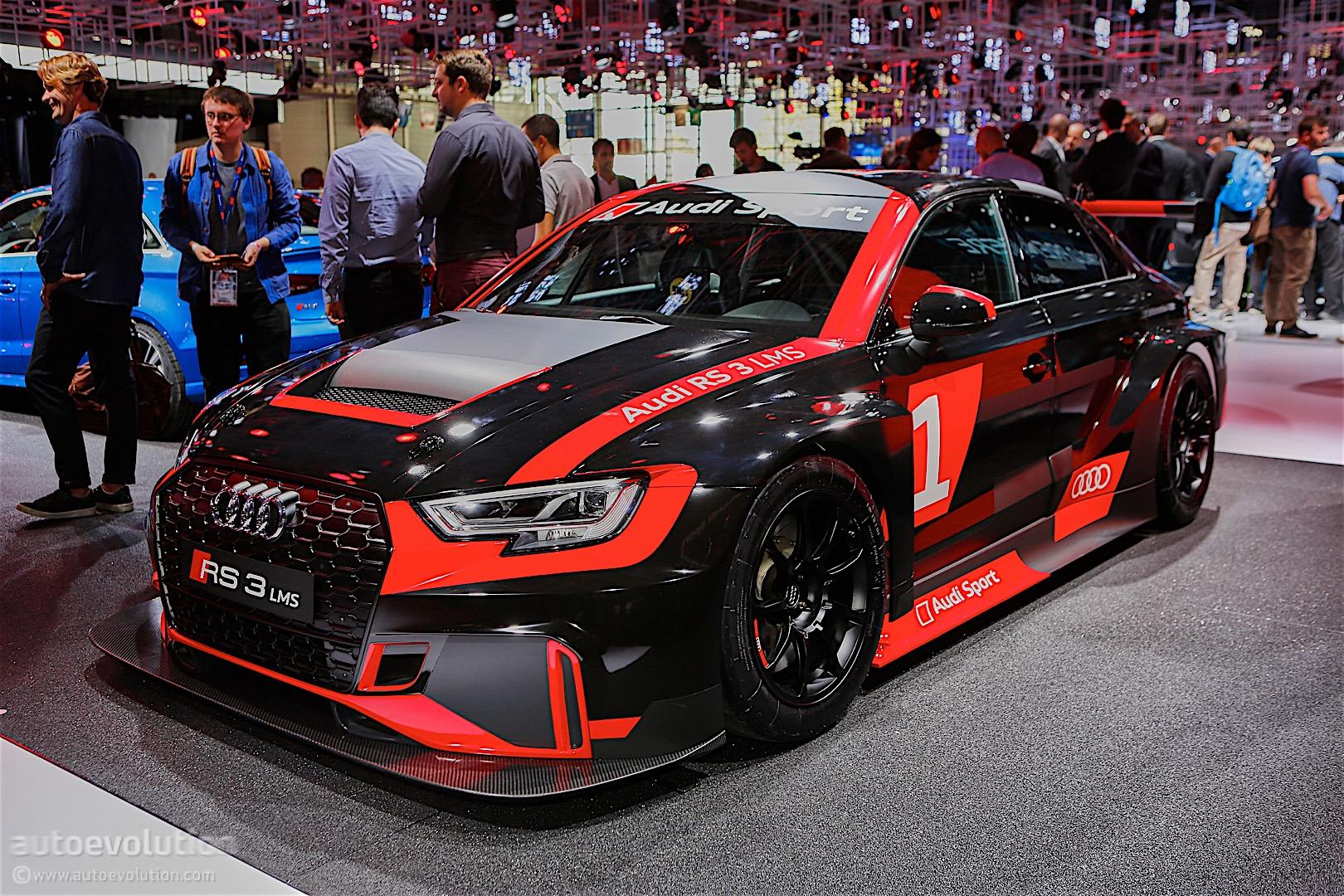 Audi Rs3 Gets Racing Version Becomes Audi Rs3 Lms 111715on Audi S3 Sedan