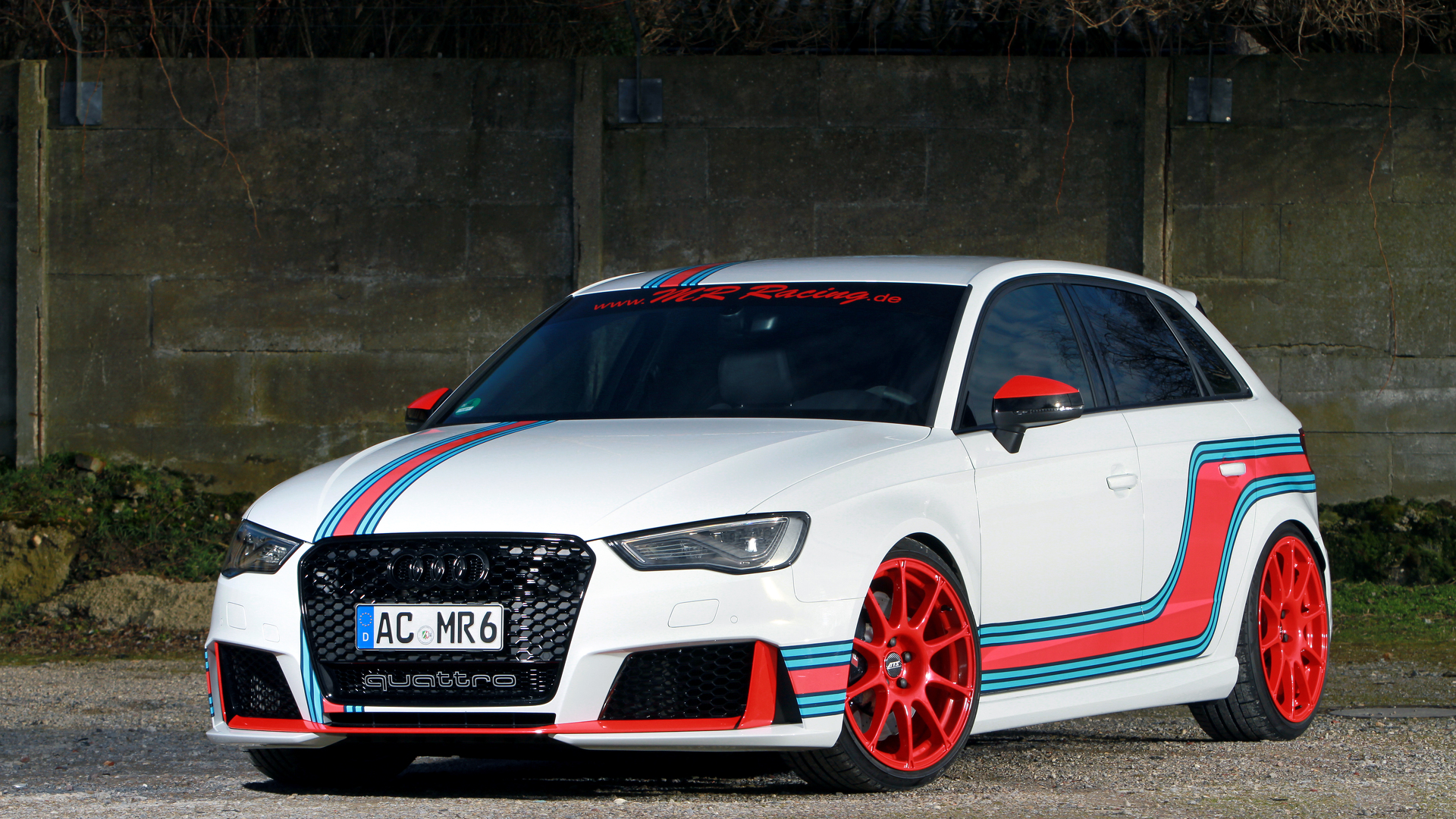 535 Hp Audi Rs3 Tuned By Mr Racing Has Too Much Power Autoevolution