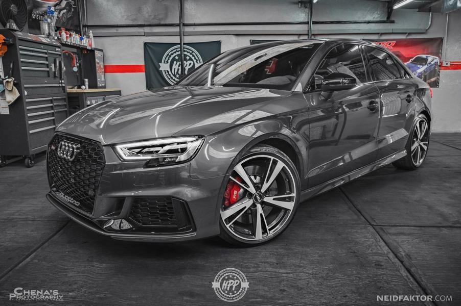 Audi Rs3 Sedan Interior Refined With Alcantara From