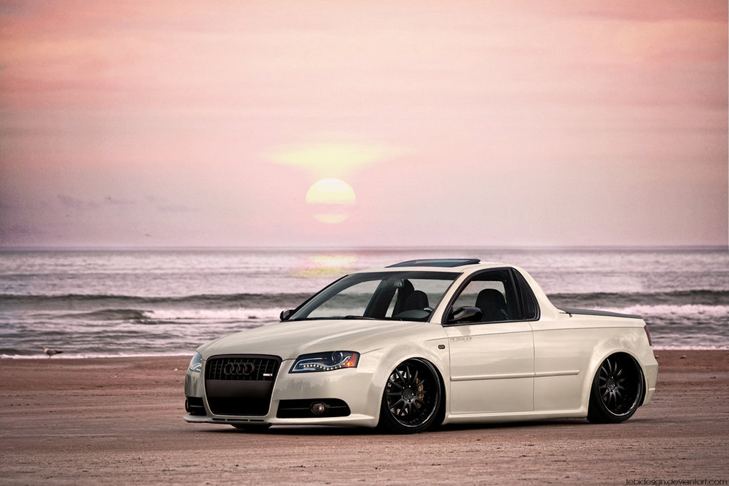 Audi Rs4 Ute Is Our Kind Of Oddity Autoevolution