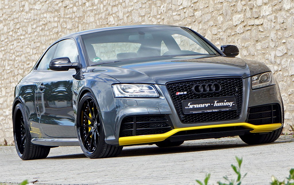 Audi RS By Senner Tuned To HP Autoevolution - Audi s5 custom