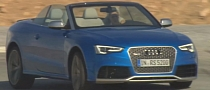 Audi RS5 Cabrio Facelift Hits the Track in Promo Clip [Video]
