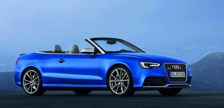 Audi RS5 Cabriolet: US Pricing Announced [Photo Gallery]