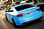 Audi RS5 in Matte Baby Blue is Stunning