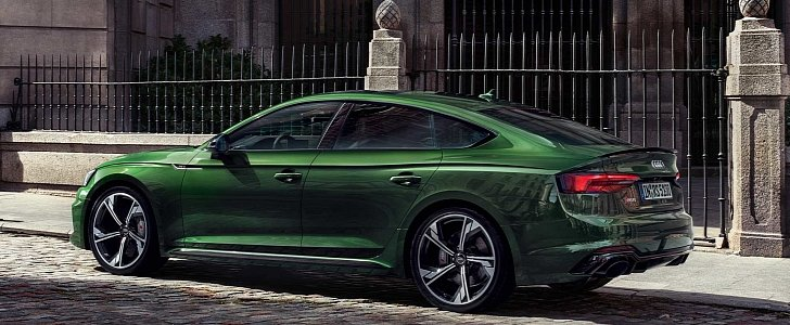 Audi RS5 Sportback Launched in Europe, Is a No-Brainer Coupe Upgrade