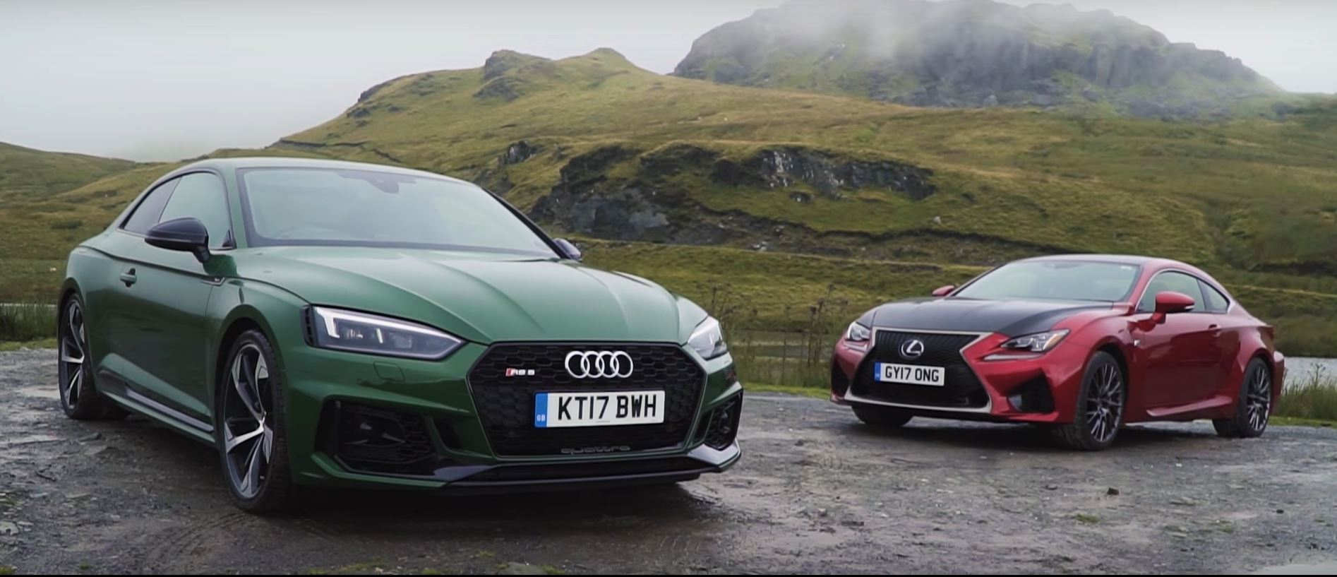 audi rs5 vs lexus rc f comparison reveals flaws in both. Black Bedroom Furniture Sets. Home Design Ideas