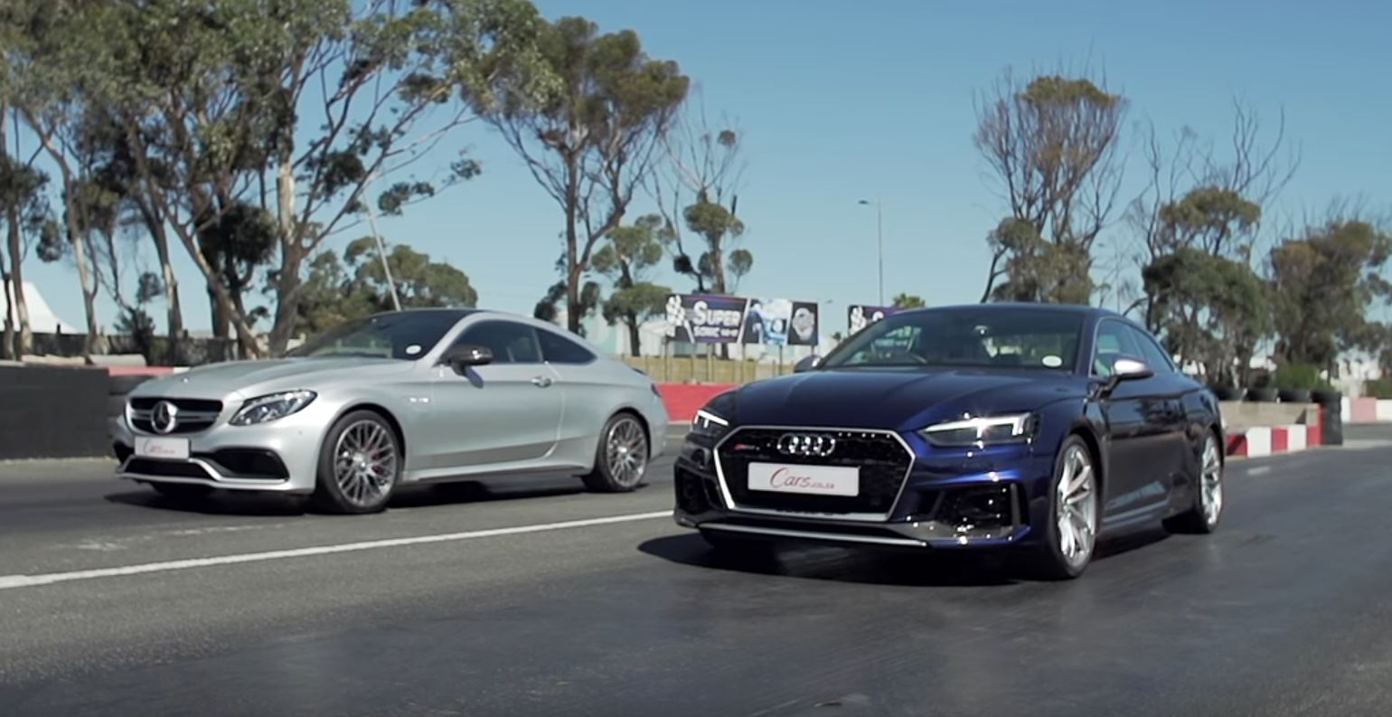 Audi Rs5 Vs Mercedes Amg C63 S Coupe Quattro Or V8 Autoevolution