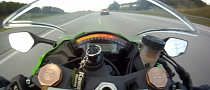 Audi RS6 by ABT Smokes Kawasaki Ninja ZX-10R on Autobahn [Video]