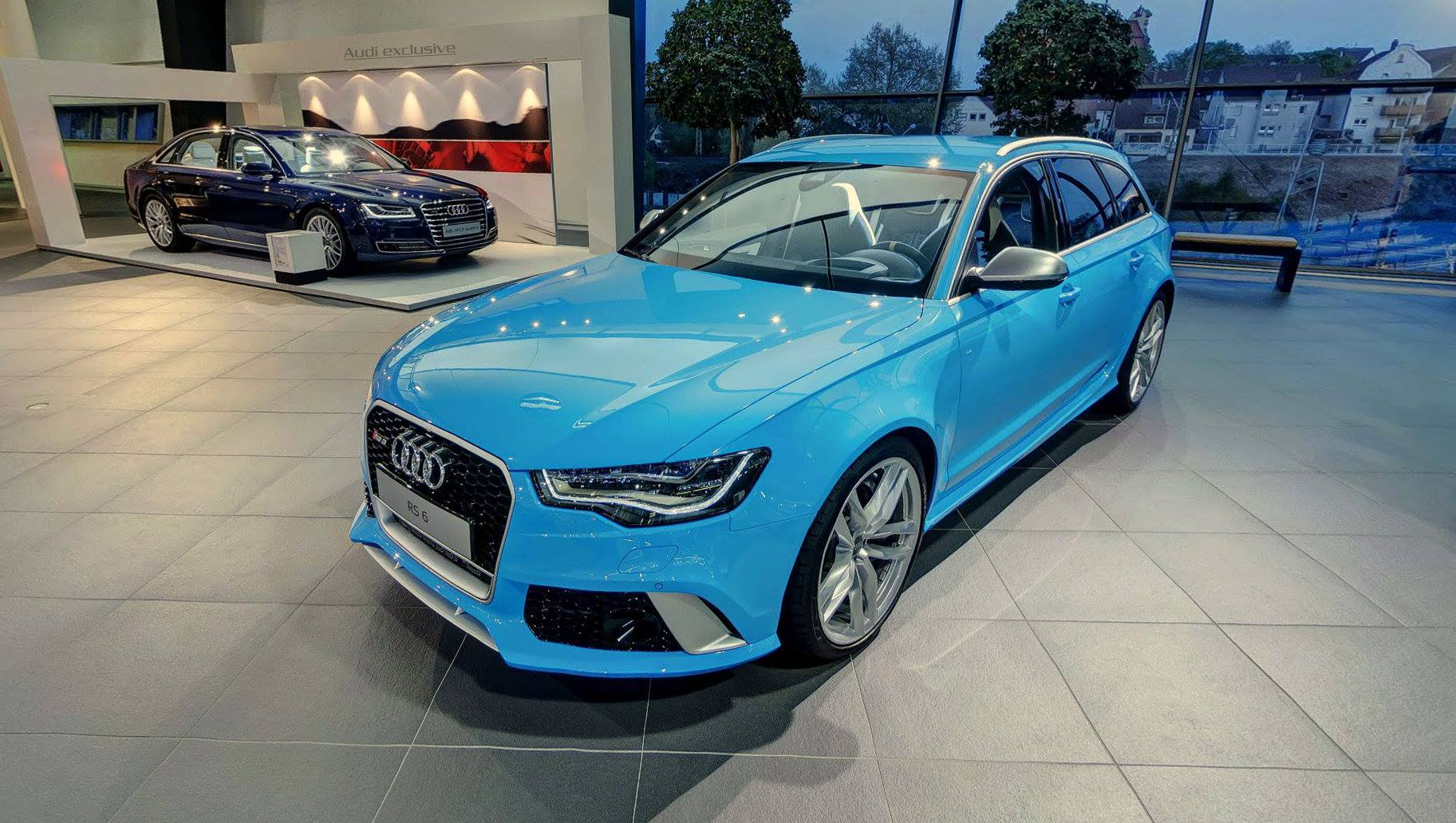 Audi RS6 Avant in Riviera Blue Is Smurftastic - autoevolution New Smurf Blue Porsche on new blue chevrolet, new blue vw, new blue kia, new blue volvo, new blue mustang, new blue camaro, new blue bmw, new blue subaru, new blue tesla, new blue ferrari, new blue corvette z06,