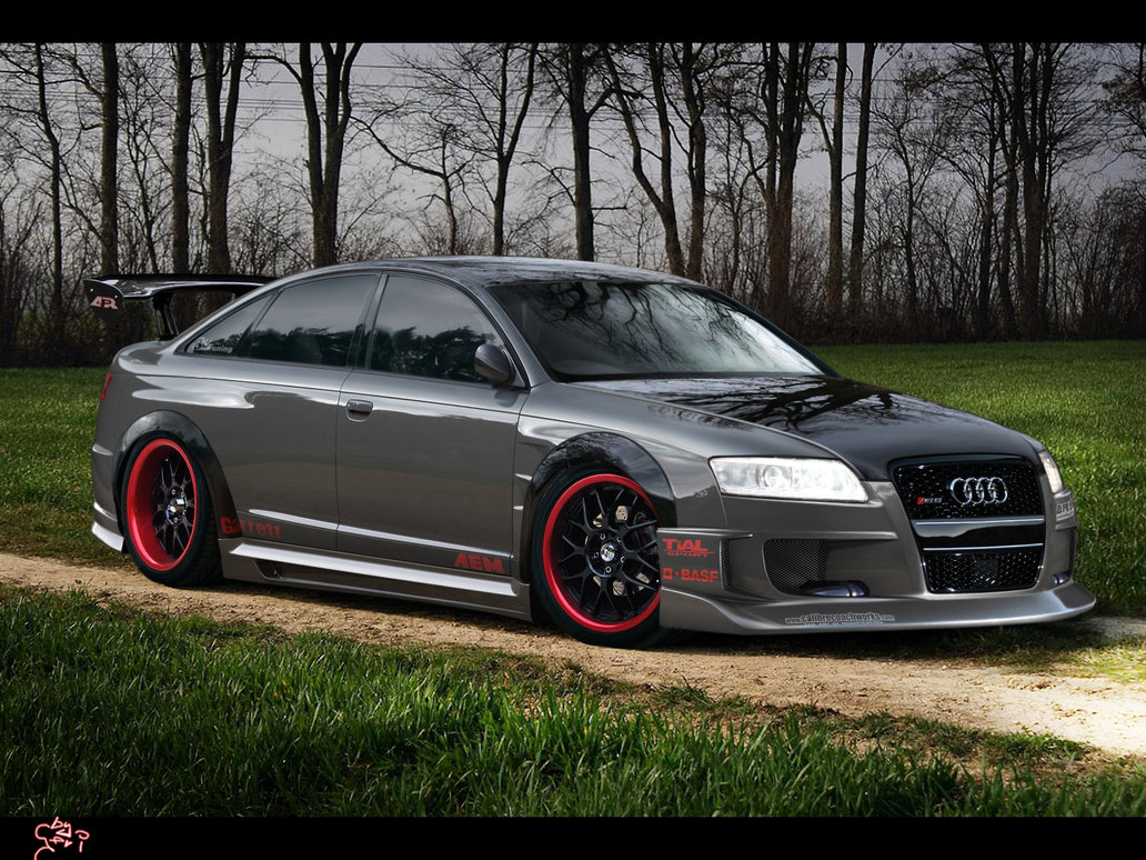 Audi Rs6 Becomes Virtual Aftermarket Monster Autoevolution