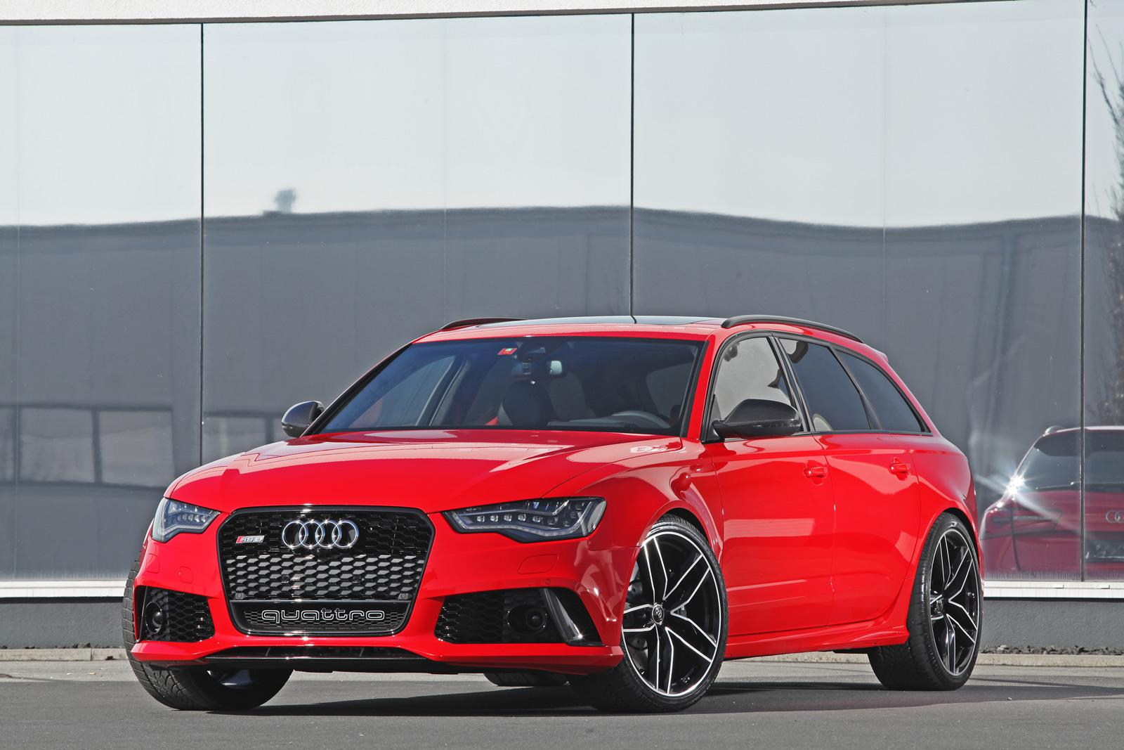 audi rs6 by hperformance is red and it has 700 hp autoevolution. Black Bedroom Furniture Sets. Home Design Ideas