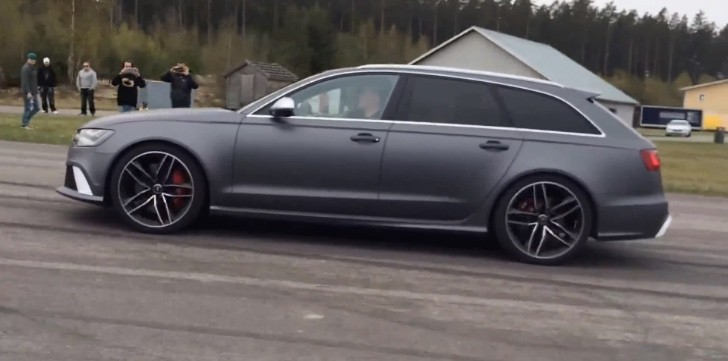 Audi Rs6 Tuned To 690 Hp Takes On A 700 Hp Bmw M5