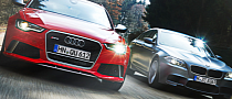 Audi RS6 vs BMW F10 M5 Comparison Test by CAR
