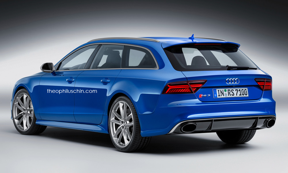 Audi Rs7 2011 >> Audi RS7 Avant Rendering Has Something Very German About It - autoevolution