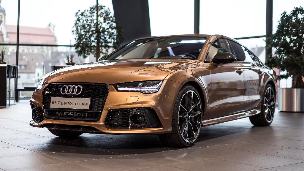 audi rs7 gets zanzibar brown paint performance exhaust. Black Bedroom Furniture Sets. Home Design Ideas