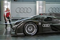 Audi's Le Mans entry tested in the wind tunnel