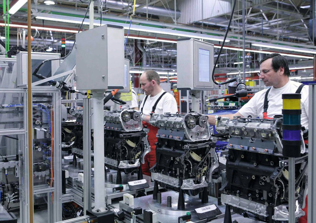 Audi S Hungary Plant Produces 20 Millionth Engine Autoevolution