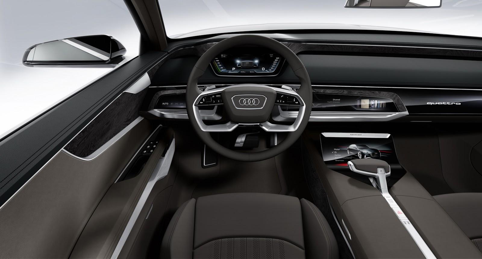 2018 Audi A8 Could Bring a New Interior Concept ...