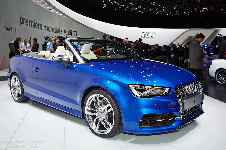 Audi S3 Cabriolet Brings Open Top Performance To Geneva Live Photos Autoevolution