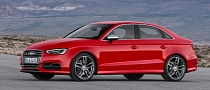 Audi S3 Sedan Revealed with 300 HP [Photo Gallery]