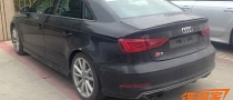 Audi S3 Sedan Spotted Testing in China