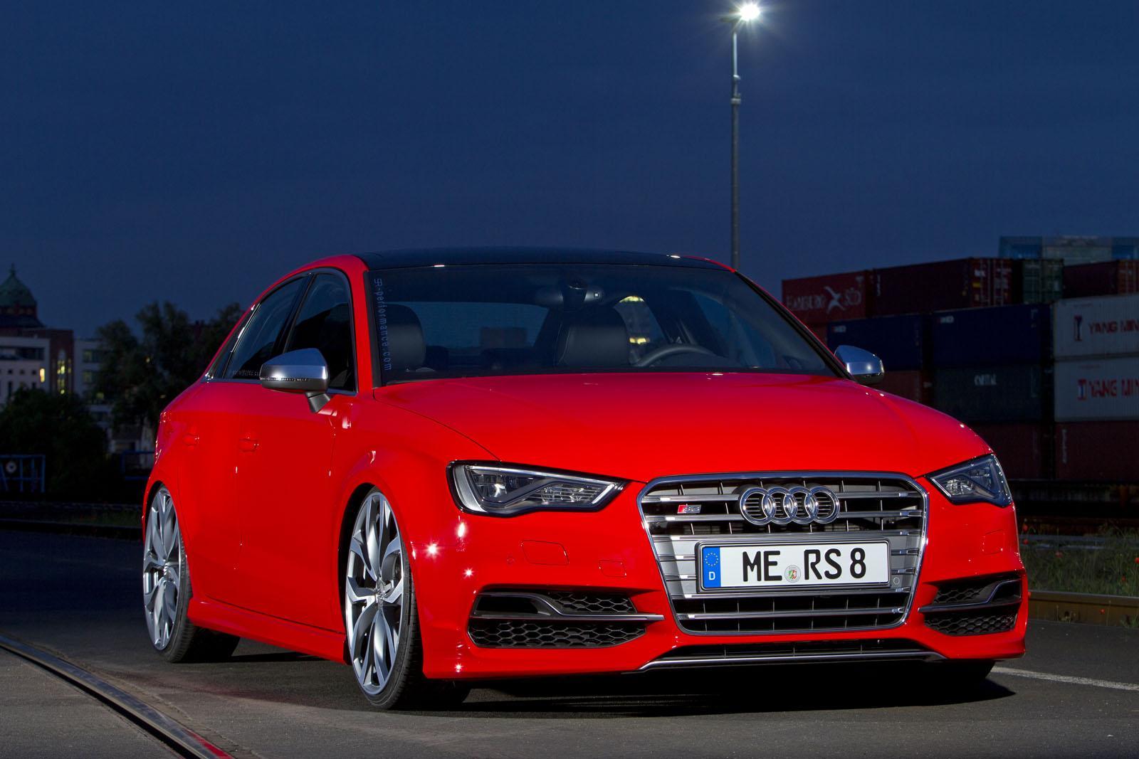 Audi S3 Sedan Tuned To 380 Hp By Sr Performance Autoevolution