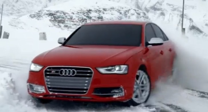 "Audi S4 Drifts in ""Elements"" quattro Commercial [Video]"