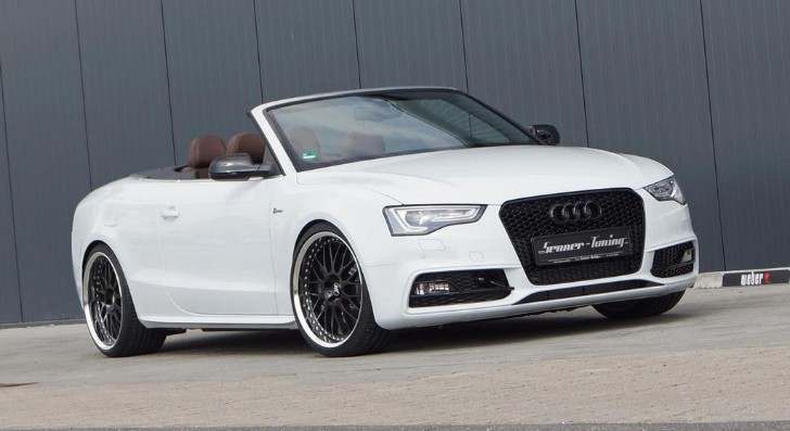 Audi S5 Convertible Tuned by Senner