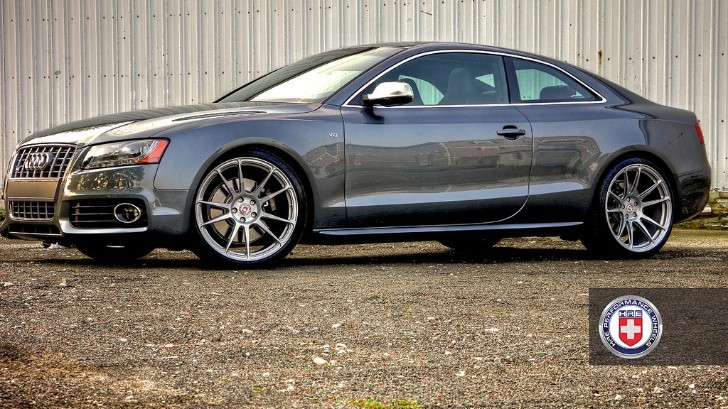 Audi S5 Rides on HRE Wheels